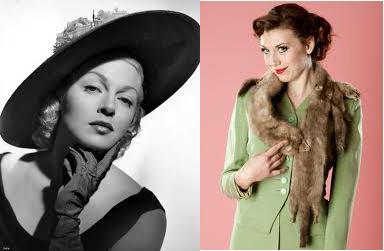 [Photo of 1950s women's fashion]