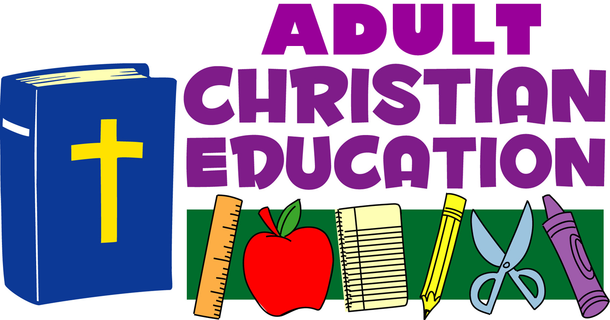 [Graphic of Adult Christian Education]