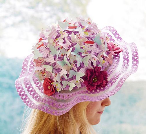 [Photo of an Easter bonnet]
