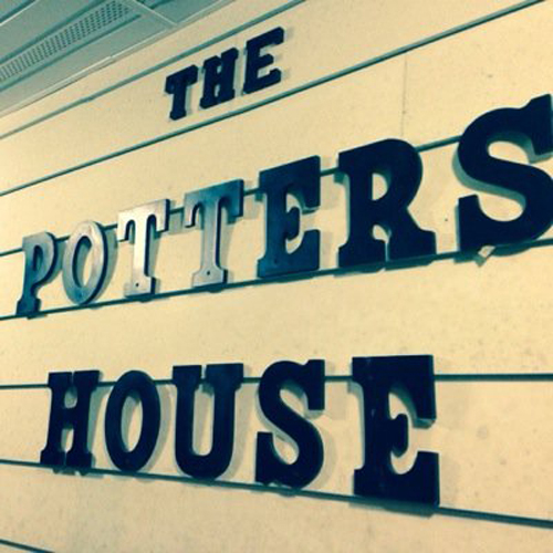 [Photo of the Potter's House logo]