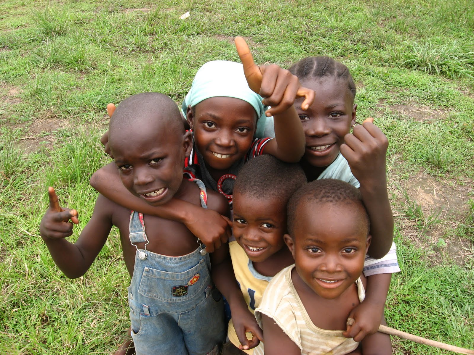 [Photo of Sierra Leone children]