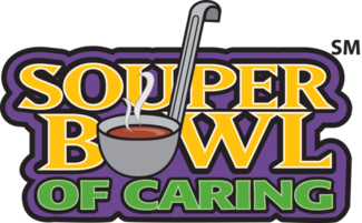 [Graphic of the Souper Bowl of Caring]