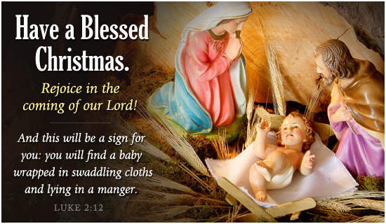 [Graphic of a Blessed Christmas]