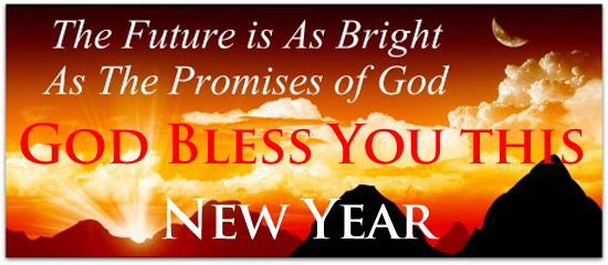 [Graphic of a Blessed New Year]