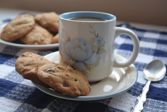 [Photo of Coffee and Cookies]