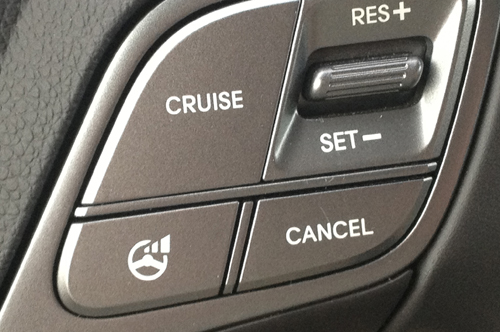 [Photo of cruise control]