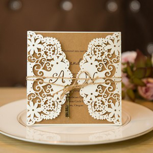 [Photo of a wedding invitation]