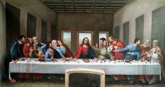 [Photo of the Last Supper]