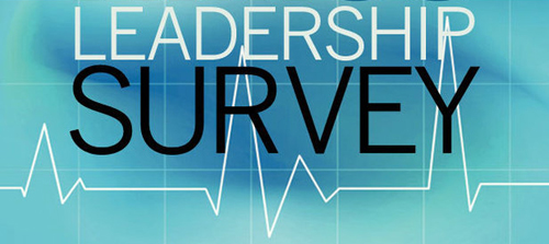 [Graphic of a Leadership Survey]