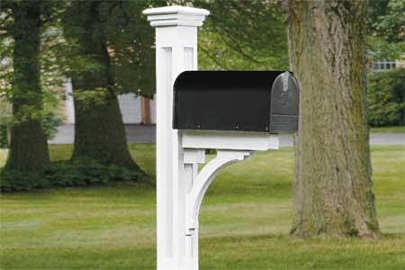 [Photo of a rural mailbox]