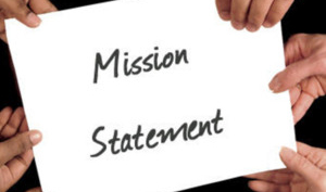 [Photo of Mission Statement]