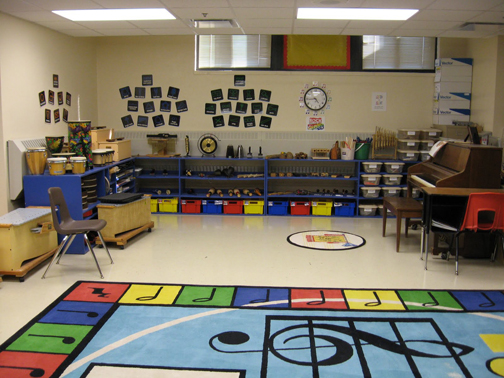 [Photo of a Music Classroom]