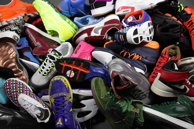 [Photo of a pile of sneakers]