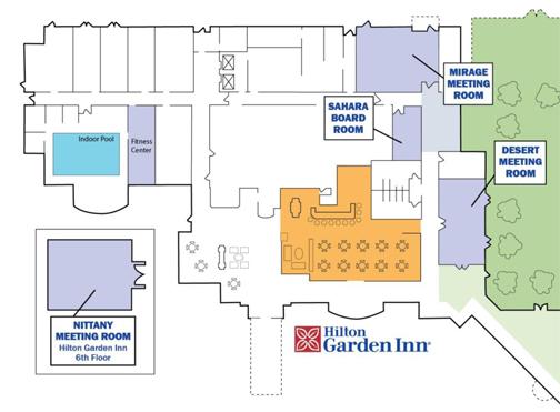 [Plan of Hilton Garden Inn]