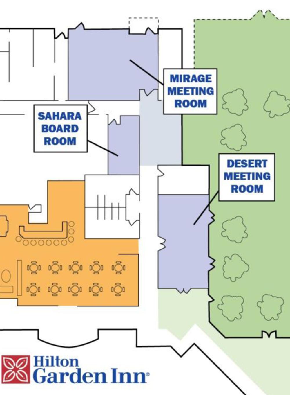 [Detailed Plan of Hilton Garden Inn]