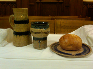 Photo of Communion Table